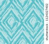 grunge textured rhombs... | Shutterstock .eps vector #1124327402