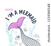 Hand Drawing Mermaid...