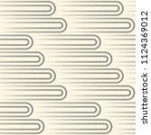 seamless circle  design. modern ... | Shutterstock .eps vector #1124369012