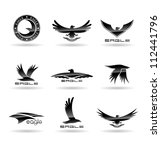 Eagle Silhouettes Vol 4.