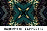 futuristic abstract background | Shutterstock . vector #1124433542
