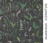 seamless pattern. composition ...   Shutterstock .eps vector #1124437142