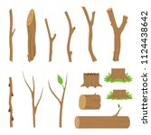 Hemp  Logs  Branches And Stick...