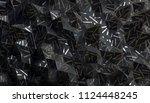 abstract 3d rendering of...   Shutterstock . vector #1124448245