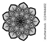 mandalas for coloring  book....   Shutterstock .eps vector #1124466602