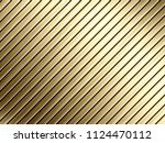 golden metal plate background ... | Shutterstock . vector #1124470112
