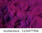 colorful 3d rendering. block ... | Shutterstock . vector #1124477906