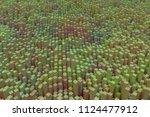 block  geometric structure ... | Shutterstock . vector #1124477912