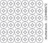 seamless vector pattern.... | Shutterstock .eps vector #1124480672