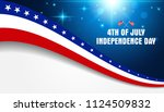 4th of july  fourth of july... | Shutterstock .eps vector #1124509832