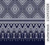 geometric ethnic pattern...   Shutterstock .eps vector #1124515328