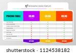 infographic design template.... | Shutterstock .eps vector #1124538182