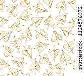 vector seamless pattern of... | Shutterstock .eps vector #1124576372