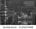technical illustration.... | Shutterstock .eps vector #1124619488