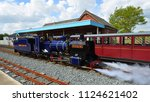 wroxham  norfolk  england   may ... | Shutterstock . vector #1124621402