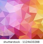 vector background from polygons ...   Shutterstock .eps vector #1124633288