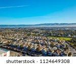 bay area aerial images santa... | Shutterstock . vector #1124649308