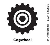 cogwheel icon vector isolated... | Shutterstock .eps vector #1124656598