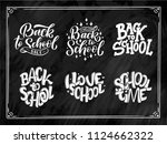 Set Of Welcome Back To School...
