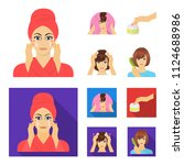 cosmetic  salon  hygiene  and...   Shutterstock .eps vector #1124688986