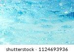 water surface blue background... | Shutterstock . vector #1124693936