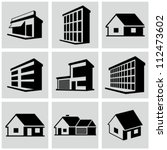 buildings set. | Shutterstock .eps vector #112473602