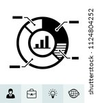business icons with white... | Shutterstock .eps vector #1124804252