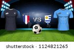 football cup 2018 world... | Shutterstock .eps vector #1124821265