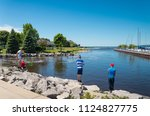 petosky  michigan   june 21 ... | Shutterstock . vector #1124827775