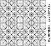 stylish black and white... | Shutterstock .eps vector #1124854652