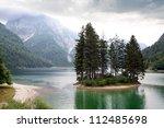 Lake Predil. Province Udine...