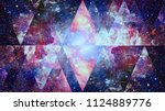 image of the nebula  galaxy and ...   Shutterstock . vector #1124889776