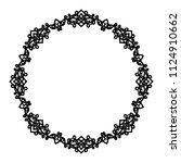 decorative frame.vector... | Shutterstock .eps vector #1124910662