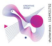 vector design. abstract pattern....   Shutterstock .eps vector #1124921732