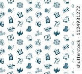 digital vector crypto democracy ... | Shutterstock .eps vector #1124931272