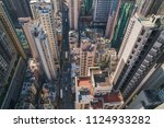 modern city skyline panorama in ... | Shutterstock . vector #1124933282