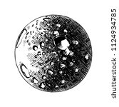 vector engraved style... | Shutterstock .eps vector #1124934785