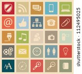 web icons | Shutterstock .eps vector #112495025