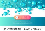 science and medicine abstract... | Shutterstock .eps vector #1124978198