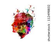 Colorful Vector Head
