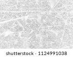 grunge black and white pattern. ... | Shutterstock . vector #1124991038