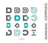 creative idea graphic design... | Shutterstock .eps vector #1124991812