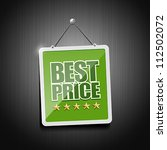 best price signs hanging with... | Shutterstock .eps vector #112502072