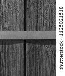 wood surface. a gray board.... | Shutterstock . vector #1125021518