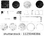 grunge design elements . frame...   Shutterstock .eps vector #1125048386
