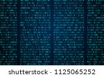 abstract technology background. ... | Shutterstock .eps vector #1125065252