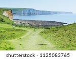 seaford head naturue reserve ...   Shutterstock . vector #1125083765