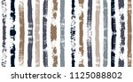 brush strokes seamless pattern. ... | Shutterstock .eps vector #1125088802