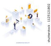 modern flat design isometric... | Shutterstock .eps vector #1125121802