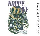 happy life light illustration | Shutterstock .eps vector #1125152552